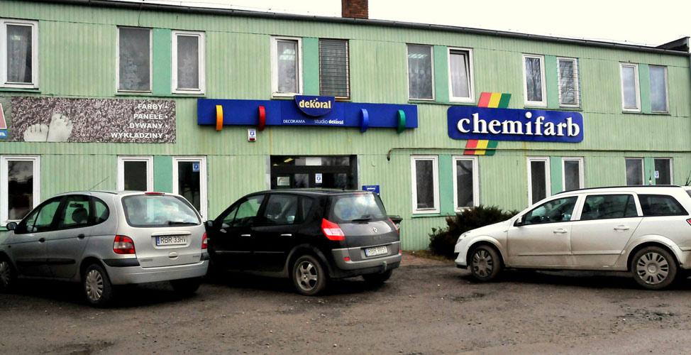 POLFARB s.c., 36-200 Brzozów, ul.Legonistów 10<br/> (budynek PGK) (podkarpackie)