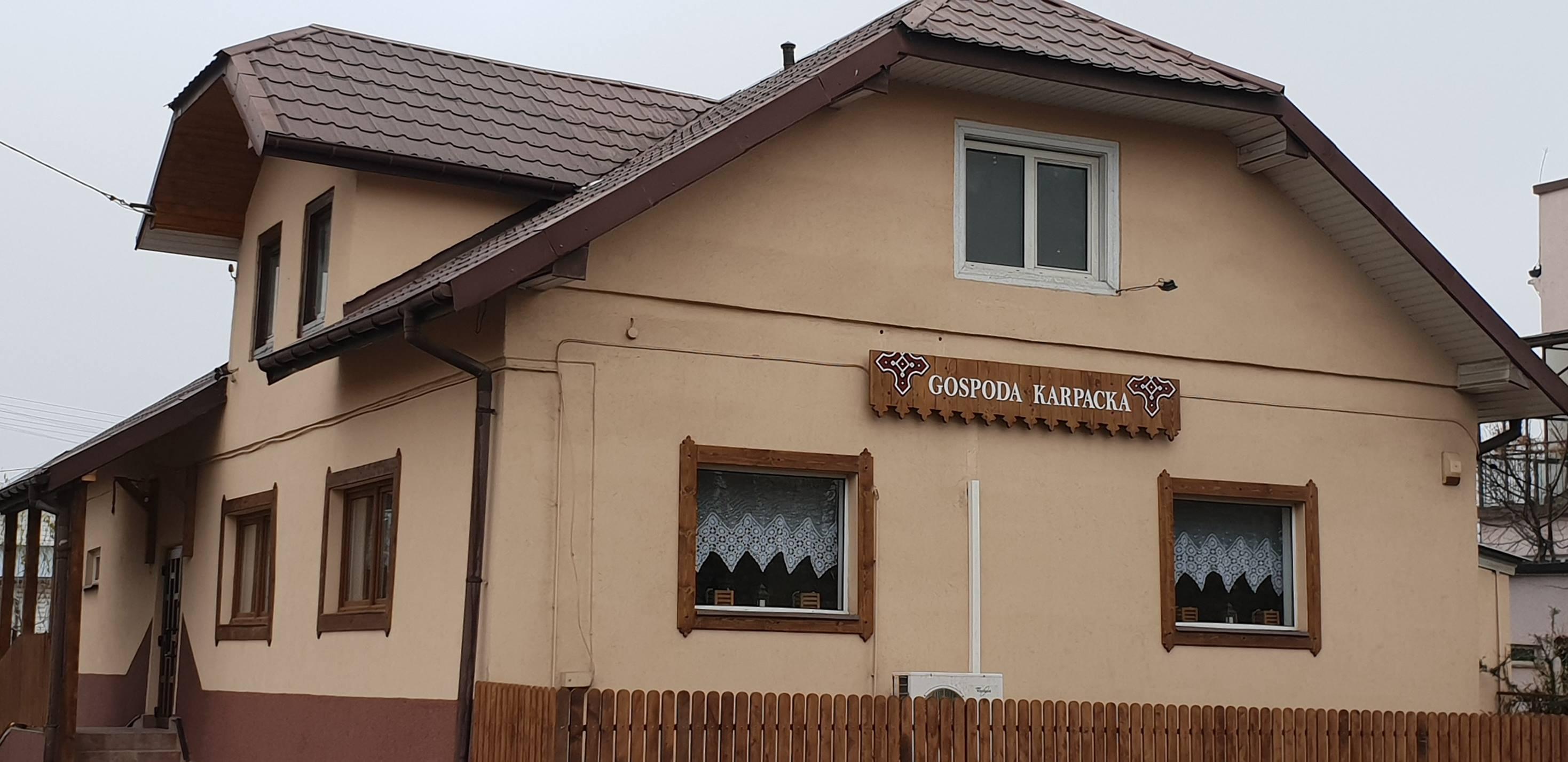 Gospoda Karpacka, 38-530 Zarszyn, ul.Bieszczadzka 21 (podkarpackie)