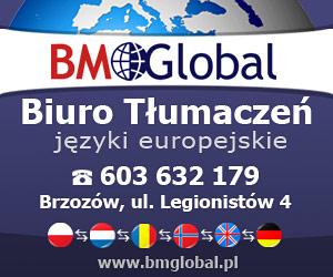 BM GLOBAL - Biuro Tłumaczeń - Brzozów, ul.Legionistów 4
